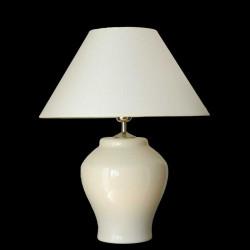 Keramická lampa M104, Champagne