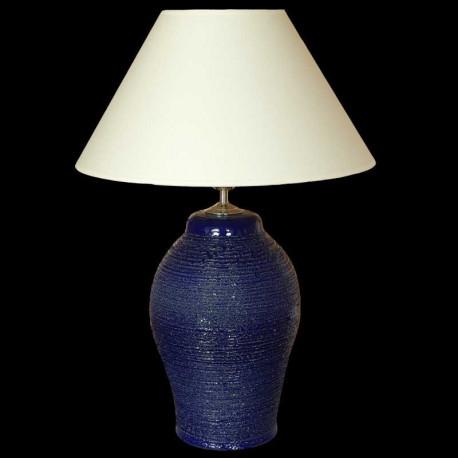 Keramická lampa C 602, modrá