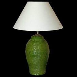 Keramická lampa C 604, zelená