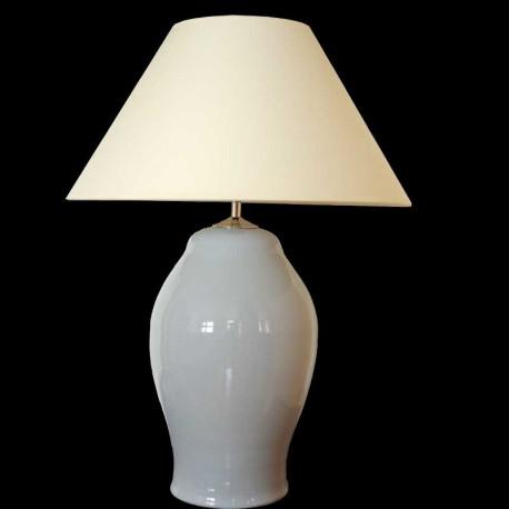 Keramická lampa C 605, šedá