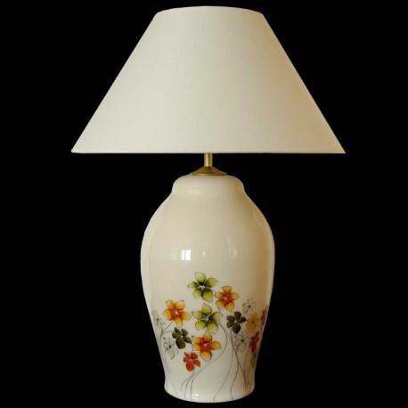 Keramická lampa D502, Dekor