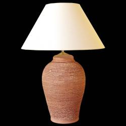 Keramická lampa N409, Natur